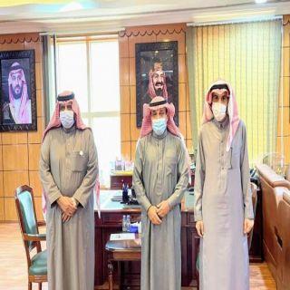 """رئيس #بلدية_البكيرية وجمعية  """"البر """" يبحثان سُبل التعاون بينهما"""