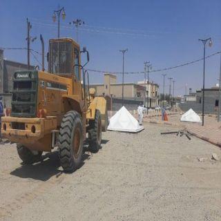 رئيس #بلدية_بيشة يوجه بإعادة تأهيل حديقة الحميمة ويتابع أعمال رفع المخلفات من الأحياء