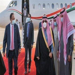 رئيس وزراء السودان يصل العاصمة #الرياض للقاء سمو ولي العهد