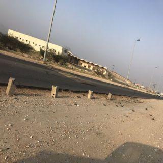 #بارق :إزدواج طريق ثلوث المنظر حُلم ضاع بين البلدية والطرق..!