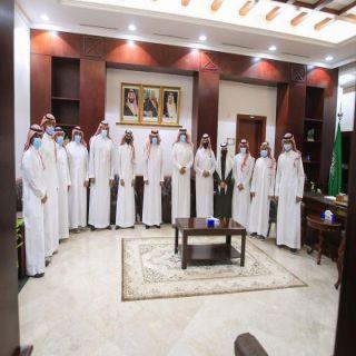 محافظ #البكيرية يلتقي المجلس الجديد للجنة شباب المحافظة