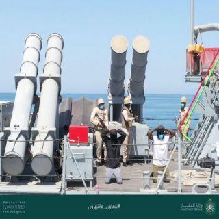 القوات #البحرية_الملكية_السعودية تختتم مناورات #تمرين_التصدي_4