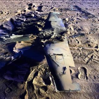صور لطائرات مسيرة تم تدميرها ..اطقلتها الميليشيات الحوثية بإتجاه السعودية