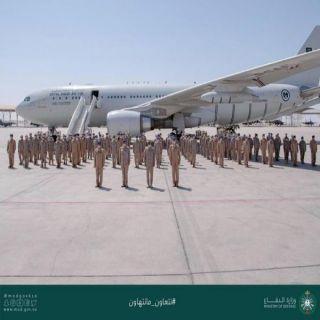 قوات الجوية الملكية السعودية تختتم مشاركتها في مناورات تمرين (علم الصحراء 2021)بدولة الإمارات