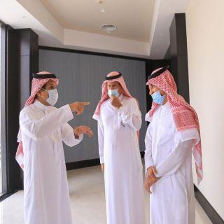 محافظ #البكيرية يزور #فندق_رمادا القصيم ويشيد بأعمال تجديده وتطويره