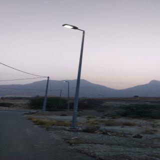 """بالصور """"وطنيات""""ترصد إطلاق التيار الكهربائي بطرق قُرى ثربان"""