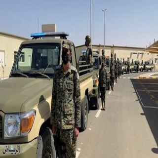 تدشين مركزين للأفواج الأمنية في الحصينية وبئر عسكر بمنطقة نجران