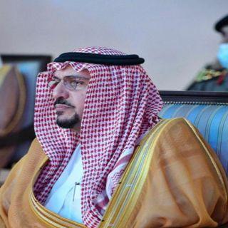 سمو أمير القصيم يواسي أسرة الناقي في وفاة الشيخ سعود بن ناقي رحمه الله