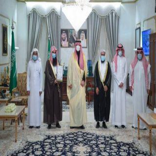 سمو أمير الشمالية يستقبل رئيس مجلس إدارة الجمعية الخيرية لتحفيظ القرآن الكريم