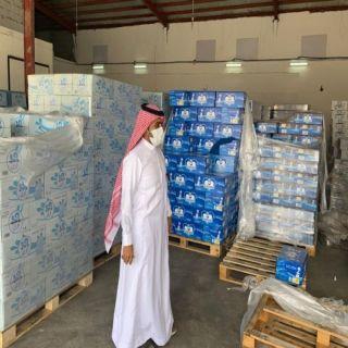 رئيس #بلدية_بارق يتفقد عددًا من المواقع ويُغلق مستوع مياه مُخالف