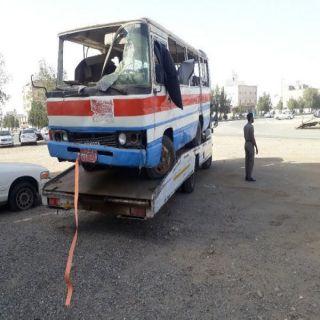 #أمانة_جده ترفع ٥١٥ سيارة مهملة وتالفة  خلال شهر مارس 2021