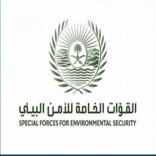 الأمن البيئي يضبط  (5) اشخاص قاموا بتجريف التربة ونقل الرمال #بجدة