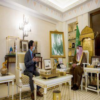 سمو أمير القصيم يستقبل سفير جمهورية فيتنام لدى #المملكة