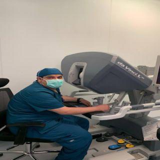 إجراء عملية ويبل بالروبوت الجراحي بعسير المركزي