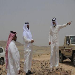 رئيس #بلدية_بلقرن ورئيس المجلس البلدي يقفان على إحتياجات أهالي قُرى حوران