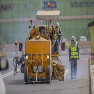 #أمانة_القصيم تنهي صيانة (٤٥٠) ألف متر مربع من طرق وشوارع بريدة
