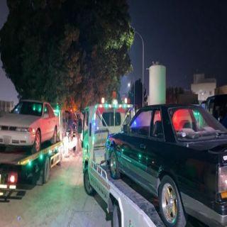 مرور القطيف يضبط عددًا من قائدي المركبات والدرجات مارسوا التفحيط والتجمهر