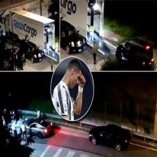 ماهو السبب الحقيقي من نقل سيارات رونالدو في منتصف الليل.؟