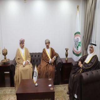 رئيس البرلمان العربي يشيد بالسياسة الحكيمة للسلطان هيثم بن طارق