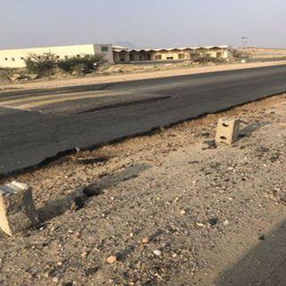 مواطن في ثلوث المنظر يُعيد مشروع إزدواج طريق ثلوث المنظر #بارق للمُطالبة