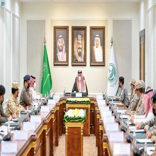 سمو أمير الشمالية يرأس  اجتماع مديري القطاعات العسكرية بالمنطقة
