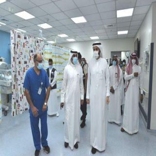 #جدة: وزير الصحة يدشن مركز لقاحات كورونا بالصالة الرياضية للامير عبدالله الفيصل