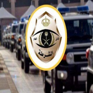 شرطة #الباحة القبض على (3) أشخاص قاموا باصطياد وعل جبلي في #بلجرشي