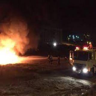 عسير حريق متنزه الشعف تتوسع دائرته إلى متنزه الجرة دون إصابات