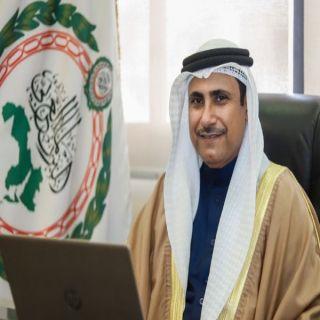 رئيس #البرلمان_العربي يهنئ ملك البحرين لمنحه الدكتوراة الفخرية من جامعة موسكو الحكومية للعلاقات الدولية