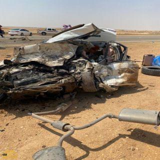 وفاة 8 في حادث مروري بحوطة بني تميم صباح العيد