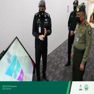 مدير عام #الجوازات يزور المركز الوطني للعمليات الأمنية ( 911 ) بمكة المكرمة