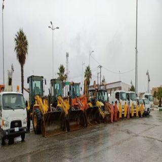 #بلدية_النماص تُكثف جهودها وتستعد لموسم الأمطار