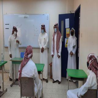 مدير #تعليم_عنيزة يطمئن على تطبيق الاشتراطات الصحية مع انطلاق العام الدراسي الجديد لـ 40 ألف طالبًا وطالبة
