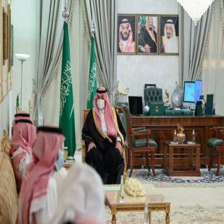 أمير الشمالية يستقبل رئيس مجلس إدارة جمعية أمان البيئة بعرعر