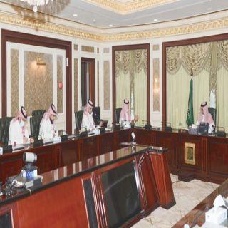 رئيس #جامعة_الملك_خالد يستقبل ممثلي اللجنة الوطنية لمكافحة المخدرات