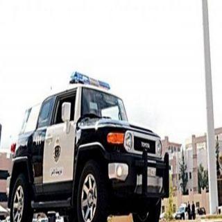 شرطة مكة تقبض على مواطنين اطلق اعيره ناريه في الهواء