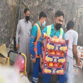 #أمانة_جدة : تصادر أكثر من (53) طن من الخضروات والفواكه وإزالة (305) من البسطات