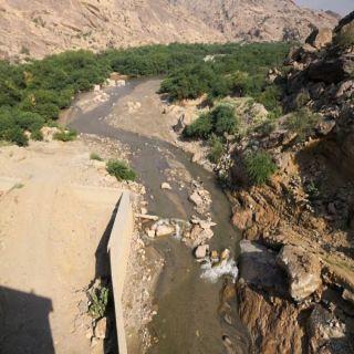 سد وادي يبه في #بارق بين عدسات المصورين ومُطالبات الأهالي