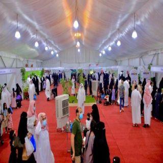 الأميرة هند بنت عبدالرحمن تزور مهرجان تين القصيم الثاني بالبدائع