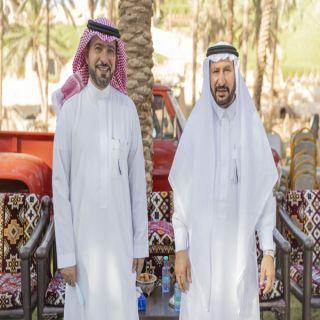 الوزير الحقيل يشكر أمين منطقة القصيم المهندس محمد بن مبارك المجلي