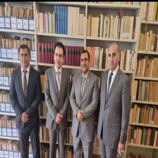 رئيس البرلمان العربي يلتقي وزير الأوقاف والشؤون الدينية بإقليم كردستان العراق