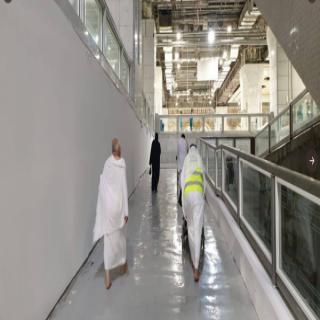 ربط صحن المطاف بالدور الأرضي بمسار خاص للأشخاص ذوي الإعاقة في المسجد الحرام