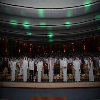 رئيس جامعة الملك خالد يشهد حفل استقبال المستجدين للعام الجامعي 1443