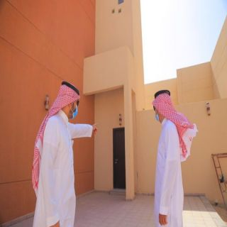 مُحافظ #البكيرية ومدير شؤون الإسكان  في القصيم يتفقدان مشروع إسكان  الملك عبدالله الخيري لوالديه