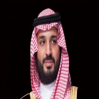 سمو #ولي_العهد يتلقى برقية تهنئة  من وزير الدفاع الكويتي بمناسبة الـ #يوم_الوطني_91