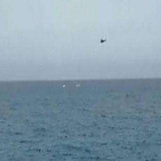 سقوط طائرة تدريب قبالة الساحل اللبناني