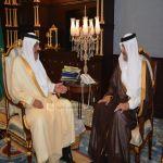 أمير منطقة الباحة يستقبل سمو رئيس الهيئة العامة للسياحة والآثار