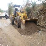 بلدية بلجرشي تُزيل مخلفات الأمطار من الشوارع العامة
