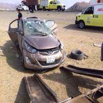 وفاة شخص وثلاث إصابات في حادث طريق الجرين بالباحة