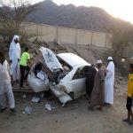 11 حادثاً مروريا يخلف 15 إصابة بمنطقة الباحة خلال 3 أيام الماضة